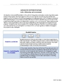 [Grade 1] Social Studies- Adv. Differentiation -Unit: Citizenship and Government