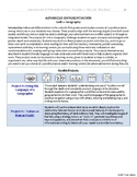 [Grade 1] Social Studies - Adv. Differentiation - Unit: Geography