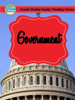 1st Grade Social Studies Buddy Reading: Government