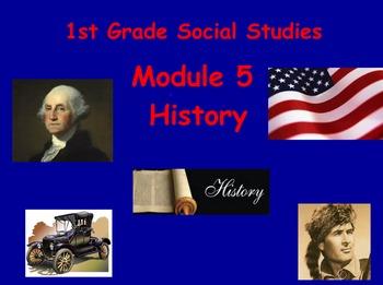 1st Grade Social Studies History Flipchart (TN)