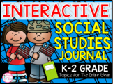 K-2 Interactive Social Studies Journal (TEKS & CCSS Aligned)