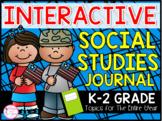K-2 Interactive Social Studies Journal (TEKS & CCSS Aligned)