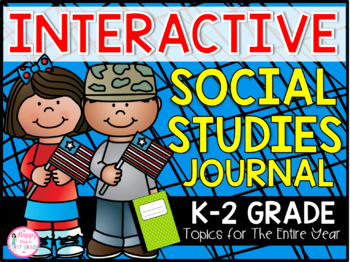 1st Grade Interactive Social Studies Journal {25 Topics fo