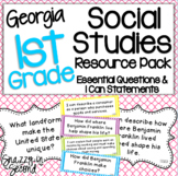 1st Grade Social Studies Resource Pack