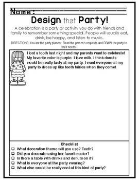 1st Grade - Social Studies - Unit 3 - Customs, Holidays, Celebrations