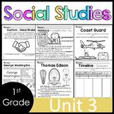 1st Grade - Social Studies - Unit 3 - Holidays, Time, Chronology, more