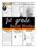 1st Grade - Social Studies - Unit 4 - USA, Symbols, Presid