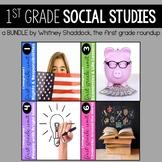 1st Grade Social Studies Units BUNDLE