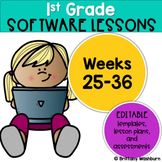 1st Grade Technology Lessons Weeks 25-36