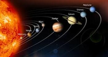 1st Grade Space Study PBL
