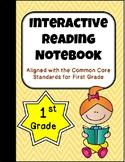 1st Grade Spanish/English Interactive Reading Notebook {Co