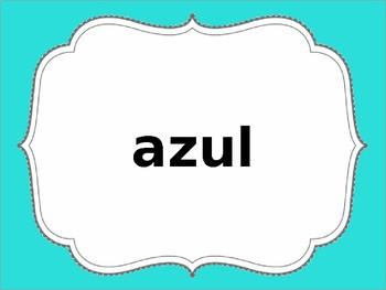 1st Grade Spanish Site Words