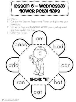 Phonics and Spelling Interactive Notebook Unit 2