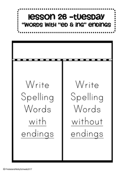 Phonics and Spelling Interactive Notebook Unit 6