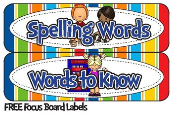 1st Grade Spelling & Words to Know {Journey's 1st Grade Units 1-6 Supplemental M