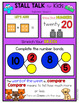 1st Grade Spiral Review Posters- Full Year Stall Talk Bundle