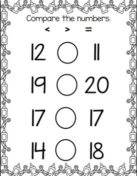 1st Grade Spiraled Differentiated Math Review Set 2