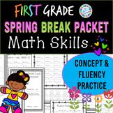 Eureka Math Spring Break Packet - 1st Grade Spiral Review