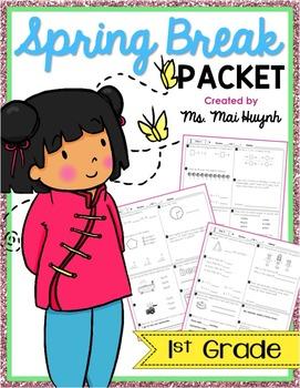 Spring Break Packet - 1st Grade