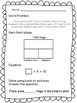 1st Grade Spring Word Problems - Part Part Whole