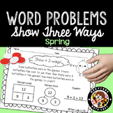 1st Grade Spring Word Problems