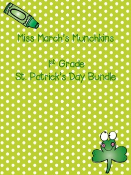 1st Grade St. Patrick's Day Bundle