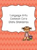 1st Grade Standards Binder: Common Core, Next Generation a