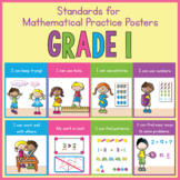 1st Grade Standards for Mathematical Practice Posters