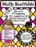 1st Grade Math Story Problems on Addition and Subtraction within 20