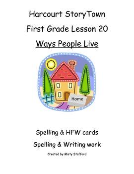 1st Grade StoryTown Lesson 20