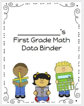 1st Grade Student Friendly Math Proficiency Scales and Assessments Data Binder