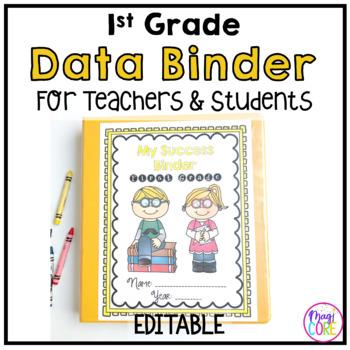 1st Grade Data Binder-Common Core Aligned
