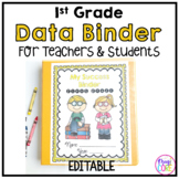 1st Grade Data Binder Notebook for Students and Teachers