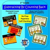 1st Grade Subtraction Facts 2 - Counting Back Powerpoint L