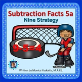 1st Grade Subtraction Facts 5a - Nine Strategy Boom Cards