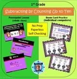 1st Grade Subtraction Facts 6 - Building a Ten Powerpoint