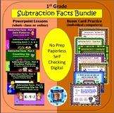 1st Grade Subtraction Facts Bundle - 6 Powerpoint Lessons