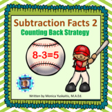 1st Grade Subtraction Facts 2 - Counting Back 1, 2, & 3 Bo