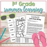 1st Grade Summer Review Packet, Math & ELA At Home Learning