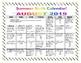 1st Grade Summer Math Calendars