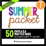 1st Grade Summer Packet
