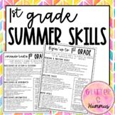 1st Grade Summer Skills Checklist/Parent Letter English and Spanish versions