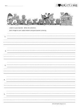 1st Grade Super Sentences