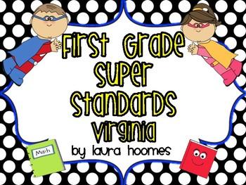 1st Grade Super Standards VIRGINIA