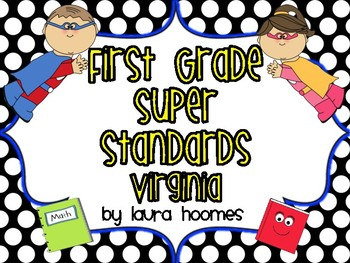 1st Grade Super Standards VIRGINIA