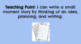 1st Grade TC Writing Unit 1: Small Moments Google Slides -