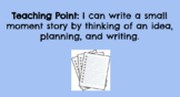 1st Grade TC Writing Unit 1 - Small Moments - Lesson Plans AND Google Slides