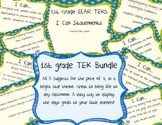 1st Grade TEKS I can Statements BUNDLE