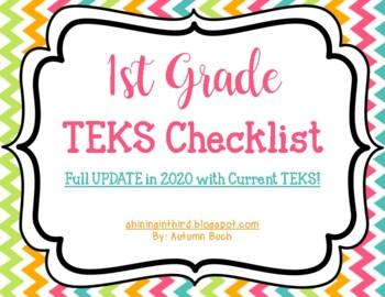 1st Grade TEKS Checklist