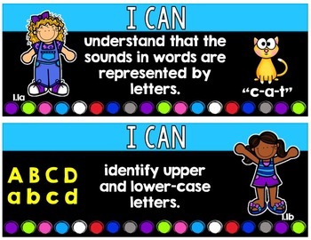 "1st Grade TEKS ""I Can"" Learning Target Poster (Language Arts Version)"